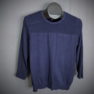 The Limited Womens Sweater Large Blue Pullover